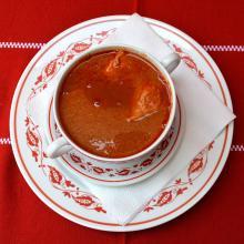 Dunagyöngye Halászlé csészében