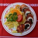 Halászcsárda Aszaltszilvás csirkemellfilé bacon köntösben